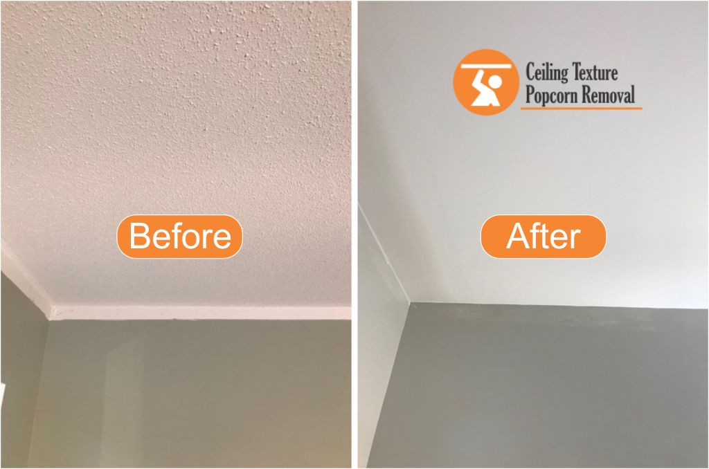 Ceiling Texture Popcorn Removal The